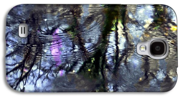 Trees Reflecting In Water Galaxy S4 Cases - April Showers 2 Galaxy S4 Case by Dale   Ford