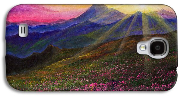 April Sunset Galaxy S4 Case by C Steele