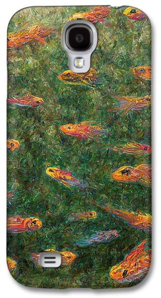Aquarium Galaxy S4 Case by James W Johnson
