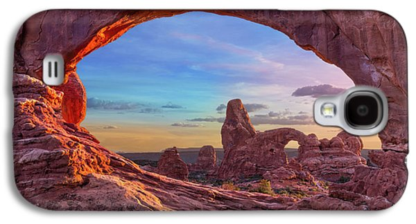 Temple Of Inspiration Galaxy S4 Case by Mikes Nature