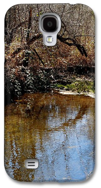 Trees Reflecting In Creek Galaxy S4 Cases - Arch Tree Reflects Galaxy S4 Case by Chris Gudger
