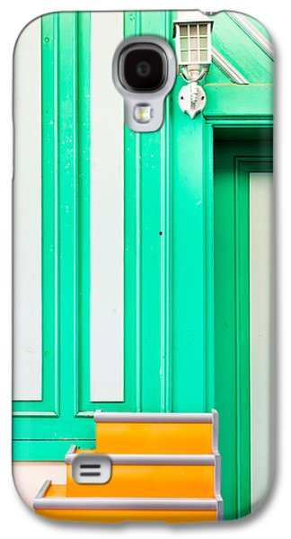 Colorful Abstract Galaxy S4 Cases - Architecture pattern Galaxy S4 Case by Tom Gowanlock