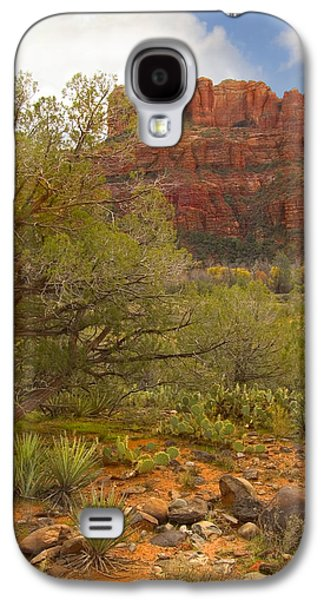 Vertical Digital Art Galaxy S4 Cases - Arizona Outback 3 Galaxy S4 Case by Mike McGlothlen