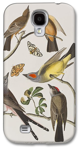 Arkansaw Flycatcher Swallow-tailed Flycatcher Says Flycatcher Galaxy S4 Case by John James Audubon