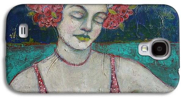 Goddess Paintings Galaxy S4 Cases - Arms Wide Open Galaxy S4 Case by Jane Spakowsky