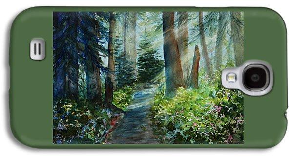 Light And Dark Galaxy S4 Cases - Around The Path Galaxy S4 Case by Kerri Ligatich