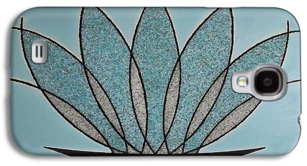 Abstract Nature Glass Galaxy S4 Cases - Art Deco Crystal Vase Galaxy S4 Case by Jose Masis-Oliver