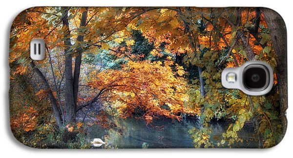Water Fowl Galaxy S4 Cases - Art of Autumn Galaxy S4 Case by Jessica Jenney