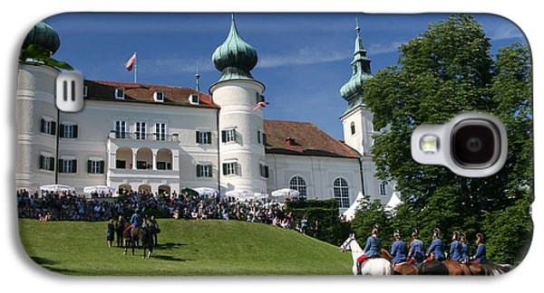 Galaxy S4 Case featuring the photograph Artstetten Castle In June by Travel Pics
