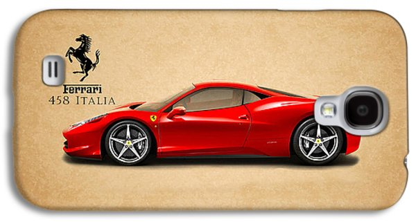 Car Photographs Galaxy S4 Cases - Ferrari 458 Italia Galaxy S4 Case by Mark Rogan