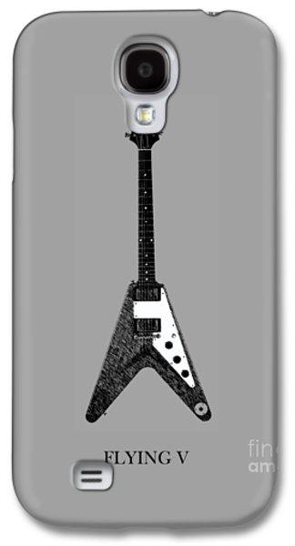 Music Photographs Galaxy S4 Cases - Gibson Flying V Galaxy S4 Case by Mark Rogan