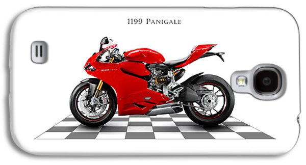 Bicycle Photographs Galaxy S4 Cases - Ducati Panigale Galaxy S4 Case by Mark Rogan
