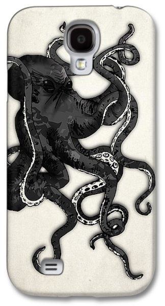 Monster Galaxy S4 Cases - Octopus Galaxy S4 Case by Nicklas Gustafsson