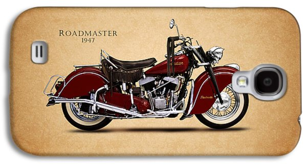 Recently Sold -  - Transportation Photographs Galaxy S4 Cases - Indian Roadmaster 1947 Galaxy S4 Case by Mark Rogan