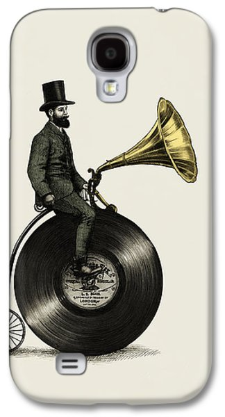Music Man Galaxy S4 Case by Eric Fan