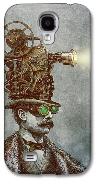 Machine Galaxy S4 Cases - The Projectionist Galaxy S4 Case by Eric Fan