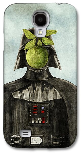 Green Drawings Galaxy S4 Cases - Son of Darkness Galaxy S4 Case by Eric Fan