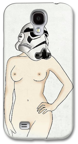Digital Galaxy S4 Cases - Sexy Stormtrooper Galaxy S4 Case by Nicklas Gustafsson