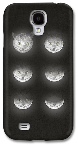 Alice In Wonderland Galaxy S4 Cases - Waning Cheshire Galaxy S4 Case by Eric Fan