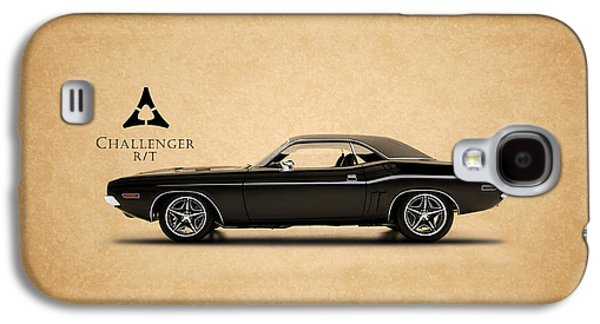 Challenger Galaxy S4 Cases - Dodge Challenger Galaxy S4 Case by Mark Rogan