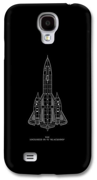 The Lockheed Sr-71 Blackbird Galaxy S4 Case by Mark Rogan