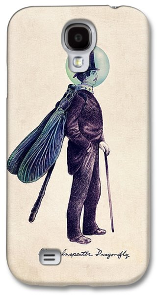 Inspector Dragonfly Galaxy S4 Case by Eric Fan