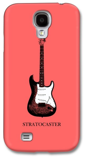 Guitar Galaxy S4 Cases - Fender Stratocaster 63 Galaxy S4 Case by Mark Rogan