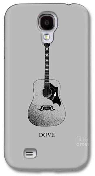 Guitar Galaxy S4 Cases - Gibson Dove 1960 Galaxy S4 Case by Mark Rogan