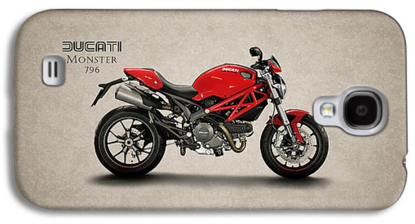 Recently Sold -  - Transportation Photographs Galaxy S4 Cases - Ducati Monster 796 Galaxy S4 Case by Mark Rogan