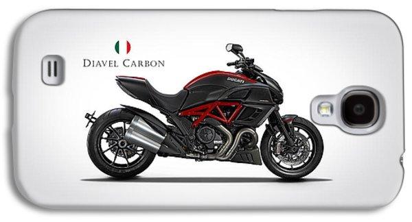 Ducati Diavel Carbon Galaxy S4 Case by Mark Rogan