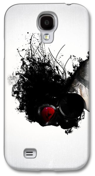 Girl Mixed Media Galaxy S4 Cases - Ghost Warrior Galaxy S4 Case by Nicklas Gustafsson