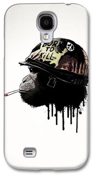 Born To Kill Galaxy S4 Case by Nicklas Gustafsson