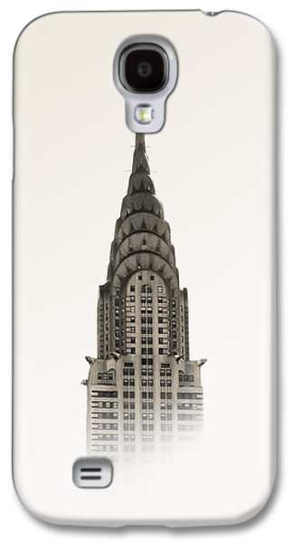 Usa Mixed Media Galaxy S4 Cases - Chrysler Building - NYC Galaxy S4 Case by Nicklas Gustafsson