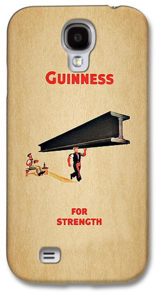 Guiness For Strength Galaxy S4 Case by Mark Rogan
