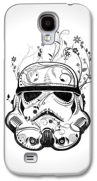 Storm Mixed Media Galaxy S4 Cases - Flower Trooper Galaxy S4 Case by Nicklas Gustafsson