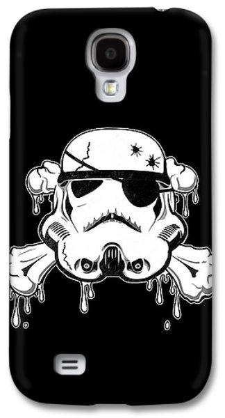 Blood Drawings Galaxy S4 Cases - Pirate Trooper Galaxy S4 Case by Nicklas Gustafsson