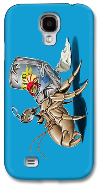 Aquatic Drawings Galaxy S4 Cases - No Place Like Home Colour Galaxy S4 Case by Rob Snow