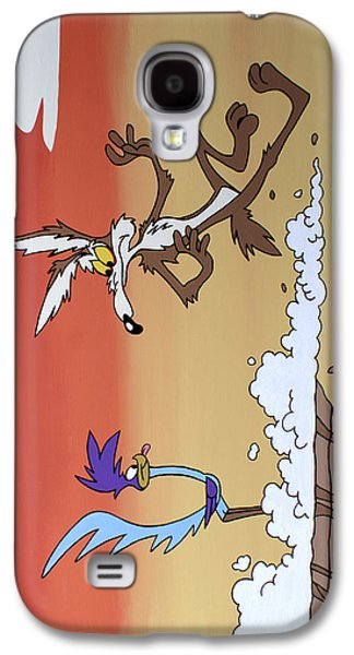 Looney Tunes Galaxy S4 Cases - Road Runner Galaxy S4 Case by Ian  King