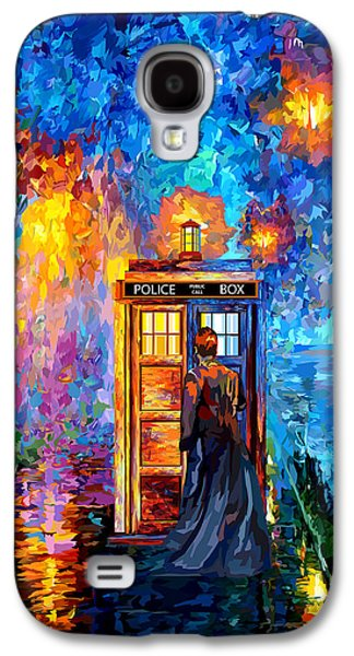 The Doctor Lost In Strange Town Galaxy S4 Case by Three Second
