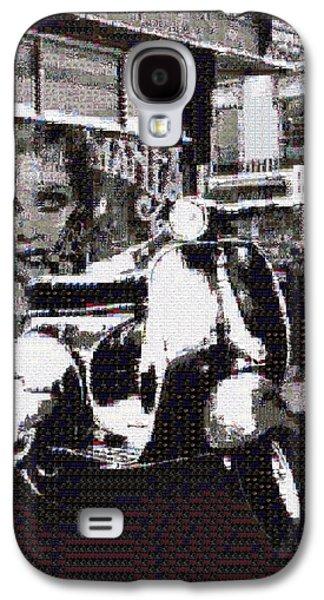 Twiggy Galaxy S4 Cases - Carnaby Street Chic Galaxy S4 Case by Sara Sutton