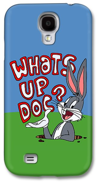 Looney Tunes Galaxy S4 Cases - Whats Up Doc Galaxy S4 Case by Ian  King