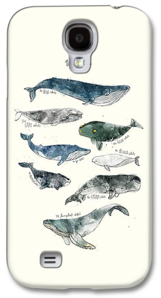 Whales Galaxy S4 Case by Amy Hamilton