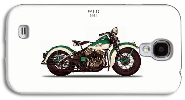 Glides Galaxy S4 Cases - Harley-Davidson WLD 1941 Galaxy S4 Case by Mark Rogan