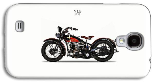 Glides Galaxy S4 Cases - Harley-Davidson VLE 1933 Galaxy S4 Case by Mark Rogan