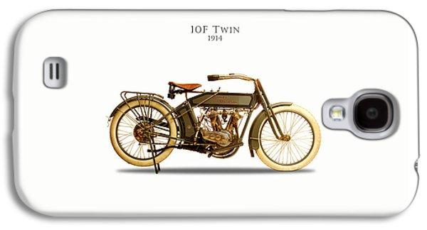 Glides Galaxy S4 Cases - Harley-Davidson 10F 1914 Galaxy S4 Case by Mark Rogan