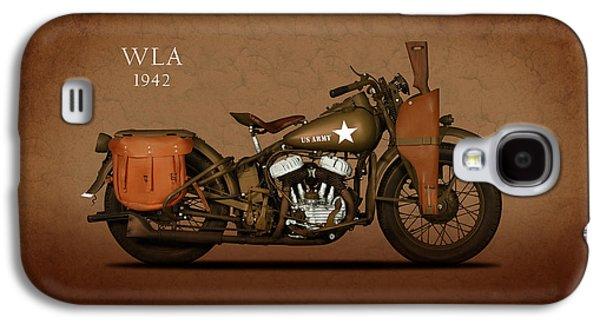 Glides Galaxy S4 Cases - Harley Davidson WLA Galaxy S4 Case by Mark Rogan