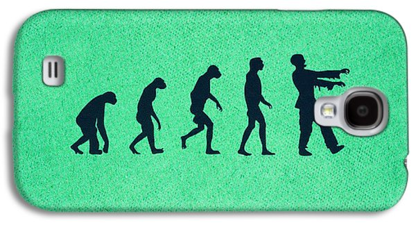 Creepy Galaxy S4 Cases - Evolution of Zombies Zombie Walking Dead Galaxy S4 Case by Philipp Rietz