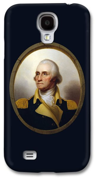 General Washington - Porthole Portrait  Galaxy S4 Case by War Is Hell Store