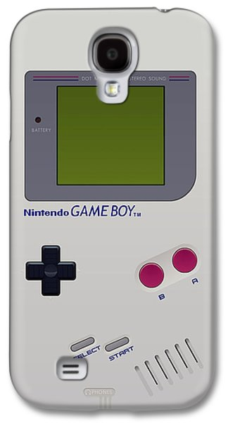 Animation Galaxy S4 Cases - Gameboy Galaxy S4 Case by Janis Marika