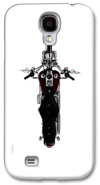 Glides Galaxy S4 Cases - Birds Eye Harley Galaxy S4 Case by Mark Rogan